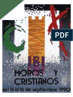 1990 - Libro Oficial de Fiestas de Moros y Cristianos de Ibi