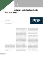 Matrimonio Cristiano y Control de La Violencia en La Edad Media
