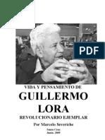 Vida y to de G. Lora, Revolucionario Ejempar