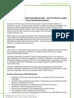 PEFC Membership Information & Fees