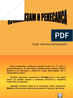 Humanizam i Renesansa