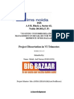 ASIF Dissertation Report