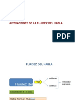 2009 Alteraciones de La Fluidez Del Habla Alumnos