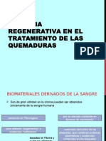 Medicina Regenerativa en El Tratamiento de Las Quemaduras