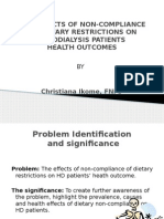 clinical project presentation - nursing 513
