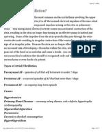 Atrial Fibrillation | Geeky Medics