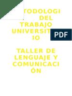 Metodologia Comunicacion