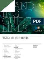 Loyola Branding Guidelines
