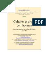Cultures Droits de Homme