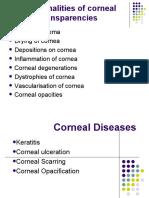 Diseases of Cornea