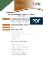 Diplomado Administracion Nominas UNAM