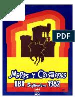 1982 - Libro Oficial de Fiestas de Moros y Cristianos de Ibi