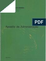Apostila de Administração IFES