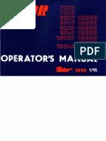 Zetor Service7520-10540 GB