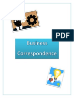 business correspondence binder