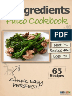 4 Ingredients Paleo Cookbook
