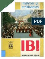 1968 - Libro Oficial de Fiestas de Moros y Cristianos de Ibi