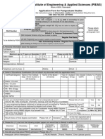 Application Form MS