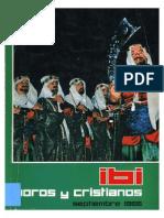 1966 - Libro Oficial de Fiestas de Moros y Cristianos de Ibi