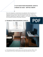 Evaluation of a Flat Room From Ergonomic Aspects