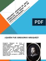 Gregorio Vásquez y Ceballos