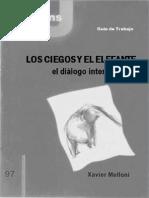 CJ 97 GT, Los Ciegos y El Elefante, El Diálogo Interreligioso - Javier Melloni