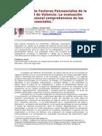 Batería de Evaluación Comprensiva Riesgos Psico-Sociales