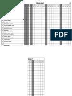 Formato de Asistencia de Personal en OBRA GENERAL (ABRIL 2015) - Copia