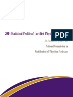 2014 Statistical Profile of Certified Physician Assistants