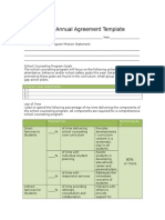 annualagreement and calendar