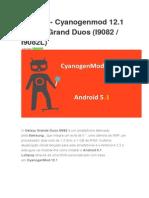Tutorial Cyanogenmodn 12.1