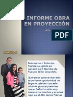 Informe Obra en Proyección, Alto de Las Palmas - Envigado