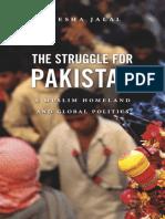 The Struggle for Pakistan - Ayesha Jalal