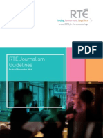 RTE Journalism Guidelines 2014