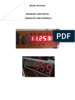 E-book Tutorial Membuat Jam Digital Dengan RTC