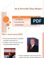 Why Putin is called Powerful than Obama
