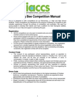 IACCS Spelling Bee Competition Manual v 3