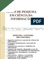 Temas Pesquisa Em Ciencia Da Informação