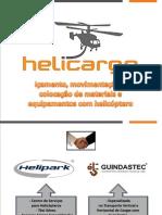 APRESENTAÇÃO HELICARGO - IÇAMENTO, MOVIMENTAÇÃO E COLOCAÇÃO DE CARGAS COM HELICÓPTERO -13.01.2015.pdf