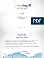 Lecture 3 - Vertical Curves