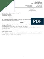Jeff Dubay Complaint