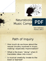 neurobiology of music composition