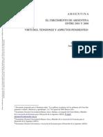 El crecimiento de argentina entre 2003 y 2008