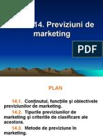 Previziuni de marketing