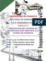 Descripcion Del Sistema de Electricidad Que Abastece a La Ciudad de Huanuco - Copia