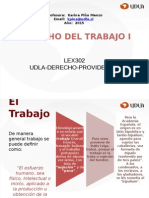 Clase 1 Nociones Basicas Del Derecho Laboral y Principios.