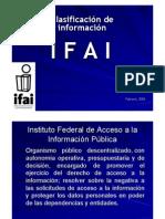 Clasificacion de Informacion Dafny Mancilla IFAI