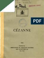 Faure e. Cezanne