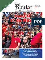 El Popular 305 Órgano de Prensa Oficial del Partido Comunista de Uruguay