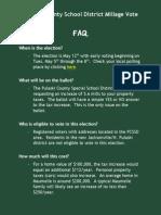 Millage FAQ